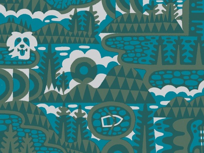 FIELD NOTES x WILCO!! maine trees forest band wilco illustration design fieldnotes