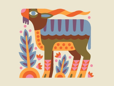 KILLER ROASTING CO. - Illustration coffee creature drawing branding animal illustration