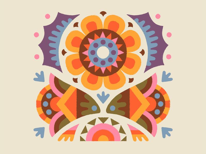 KILLER ROASTING CO. - Illustration draw ornament flowers drawing design illustration