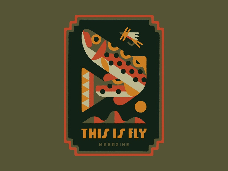 THIS IS FLY Magazine nature illustration fish nature art lettering type typography design illustration