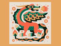 """""""Bertuch's Dragon"""" - Antler PDX"""