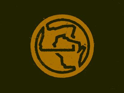 Oregon X Wisconsin - Lockup Logo