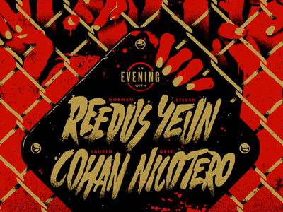 An Evening with Reedus, Yeun, Cohan and Nicotero