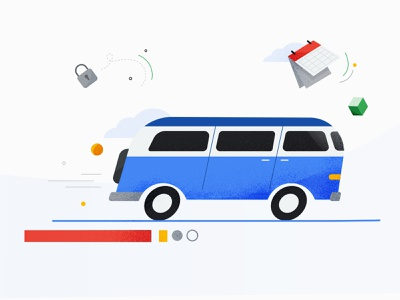 Google Cloud google design banner design minimal illustration vector flat