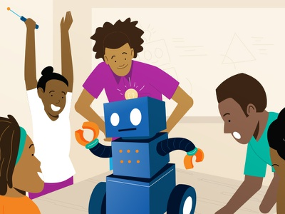 YMCA of the Triangle design ymca vector motion characters illustration explainer videos