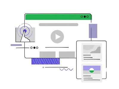 TM ARTICLE web illustration illustration flat vector minimal design