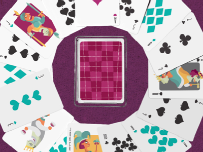 Hypertension Cards playing cards poker cards illustration king queen joker