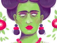 Zombie Frida Kahlo