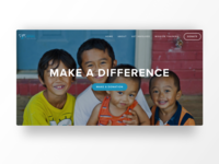 Donation Landing Page