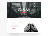 City Apartment Landing Page