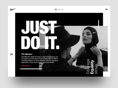 Nike Just Do It Concept