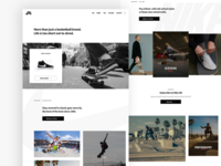 Nike SB Layout Concept