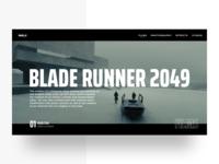 Blade Runner 2049 Landing Page