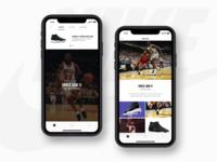 Jordan Sneaker App
