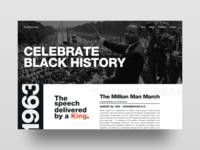 Black History Month Concept