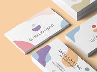 Glücklich Bunt Logodesign