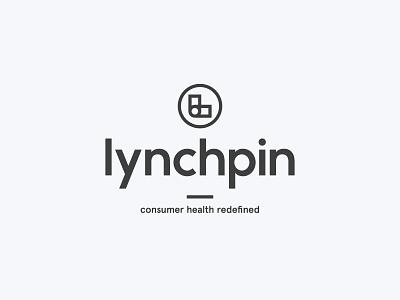 Lynchpin Logo wordmark symbol type branding identity logo