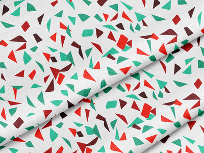 Christmas Peppermint Bark Terrazzo holiday candy cane christmas peppermint terrazzo illustration surface pattern design pattern design