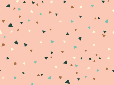 Pink Triangles Pattern | Daphney Collection