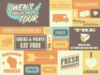 Owen's Grilled Cheese Tour