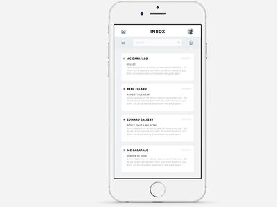 Simple Mail App