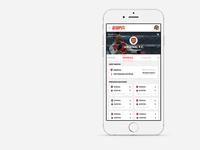 ESPN Soccer App