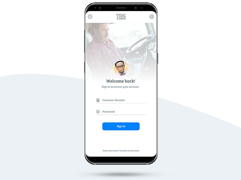 Simple Sign In login ux ui onboarding mobile sign up