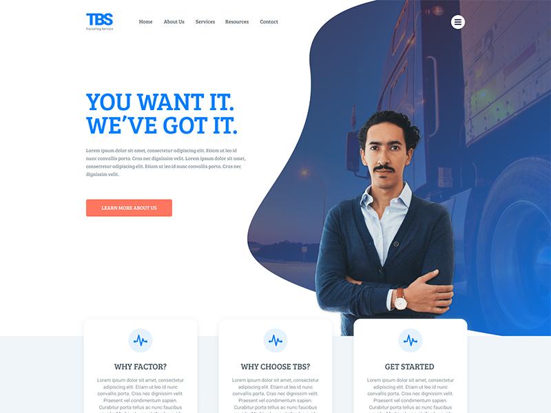 Homepage Re-Work product. web ux homepage website ui