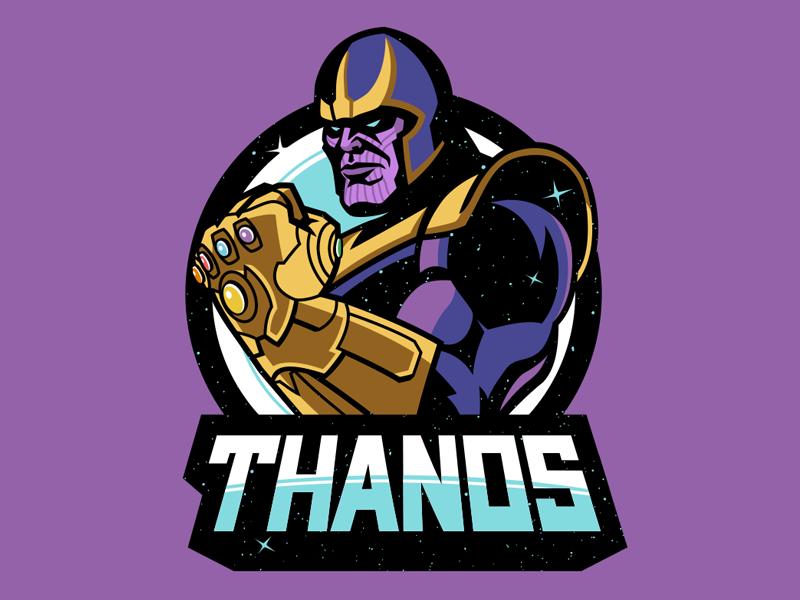 Thanos dribbble