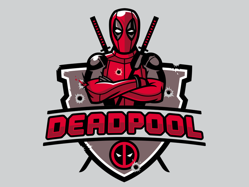 Deadpool dribbble