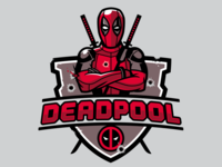 Deadpool Badge