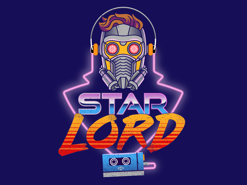 Starlord dribbble