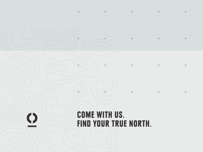 True North brand tile adventure travel texture tone typography colour