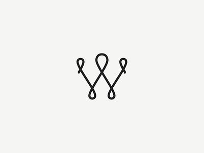 Woodfolk icon fashion minimal simple branding logo icon