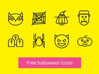 ★ Free Halloween Icons