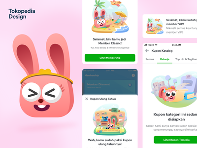 Pedi - Toped Universe character design 2d illustration 2d character product apps tokopedia ux user interface user experience ui illustration design