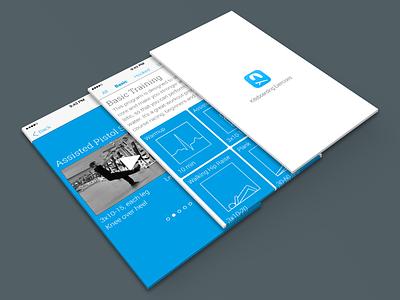 Kiteboarding Exercises 2.0 app ui wip