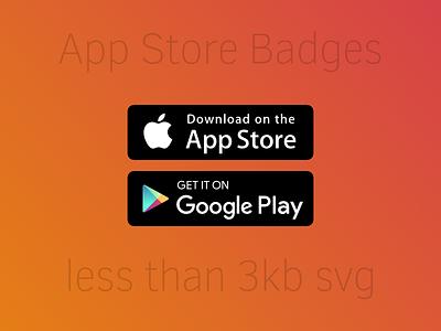 App Store Badges google apple svg social.svg.min