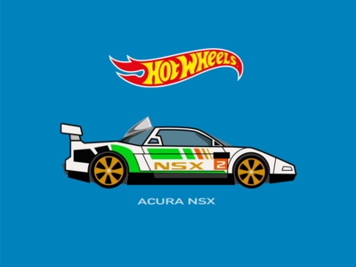 Hot Wheels Car acura nsx