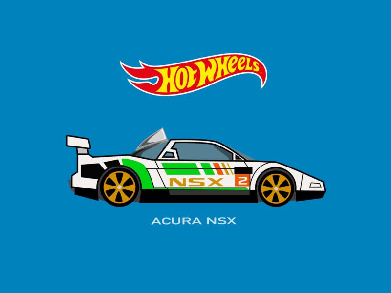 Hot Wheels Car acura nsx
