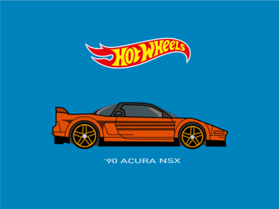 Hot Wheels Car Illustration
