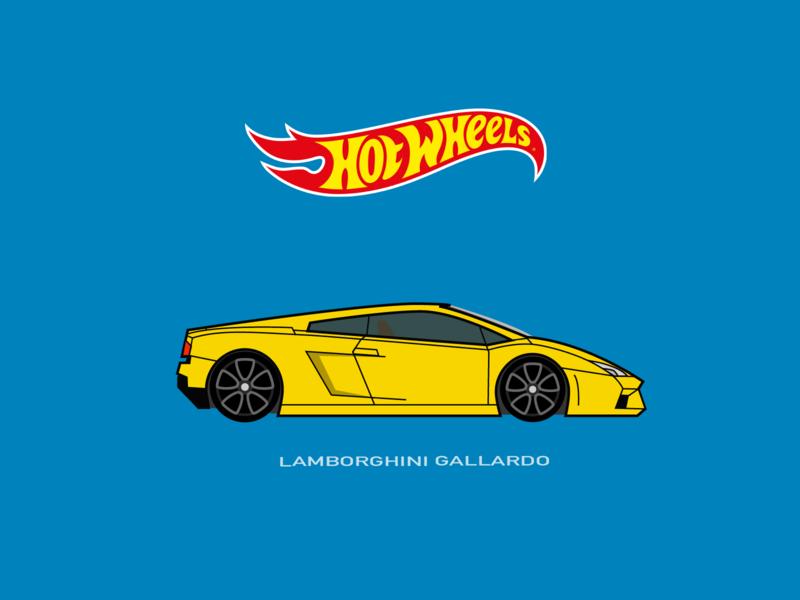Hot Wheels Car Illustration