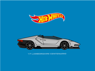 Hot Wheels Lamborghini Car