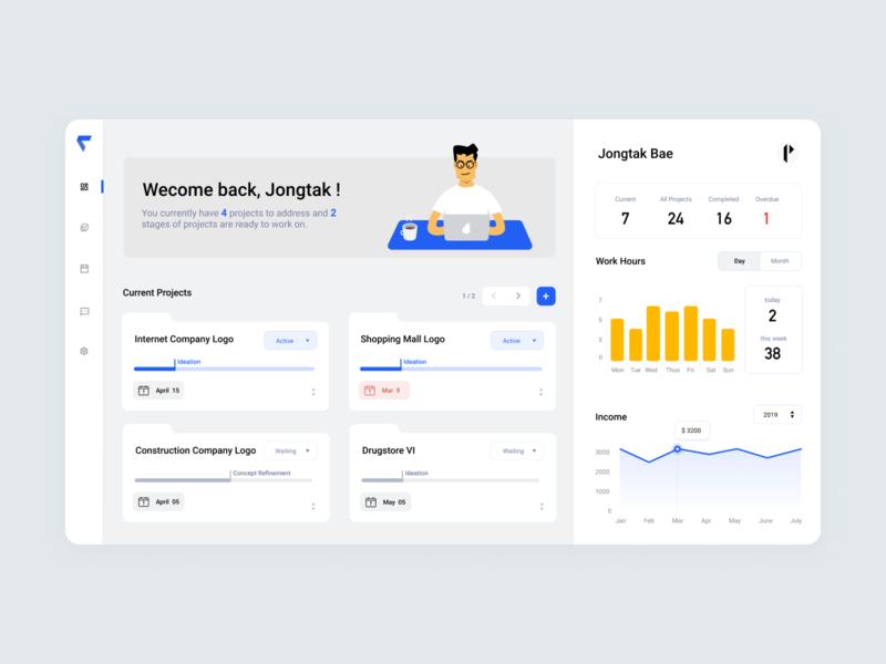 Freelancer Project Management Dashboard