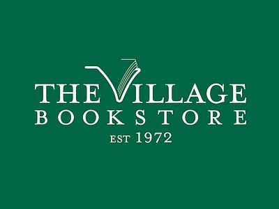 Book store logo typography vector branding illustration logo design icon