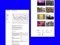 Spike Island website redesign