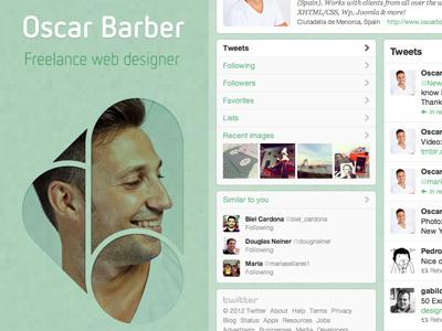 New Twitter Profile Design twitter background profile logo design followme follow