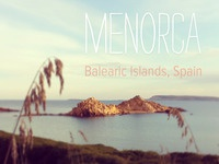 Menorca Love. Favorite place on Earth!