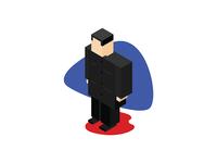 Isometric Kim Jong Un