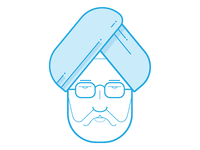 Minimal Dr. Manmohan Singh